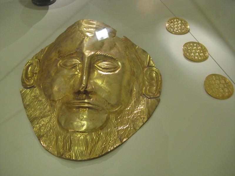 Подлинность маски Агамемнона