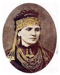 София – вторая супруга Генриха Шлимана